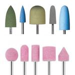 Керамические насадки и силиконовые полировщики