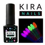 Гель-лаки Kira Nails Флуоресцентные