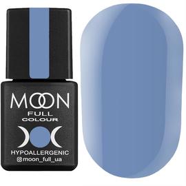 Гель-лак MOON FULL color Gel polish №154 (блакитний з сірим подтоном, емаль), 8 мл