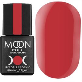 Гель-лак MOON FULL color Gel polish №204 (темно-малиновий, емаль), 8 мл