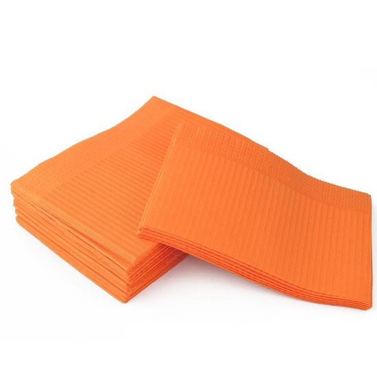 Серветки ламіновані 25 шт, помаранчеві